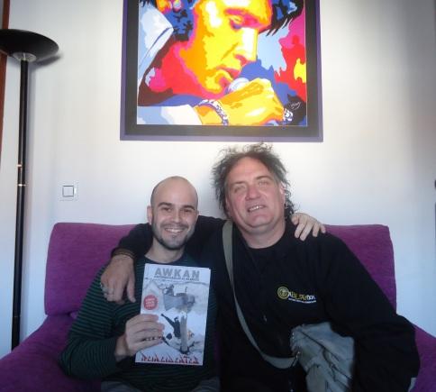 Con Fernando Madina